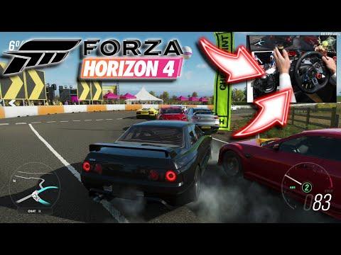 Download Nissan R35 Gtr Forza Horizon 4 Logitech G29 Gameplay Video