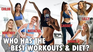 I Ate & Exercised Like The MOST POPULAR Fitness YouTubers For A WEEK (CHLOE, MADFIT, PAMELA, etc.)