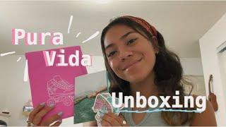 ✰Pura Vida unboxing  review ✰