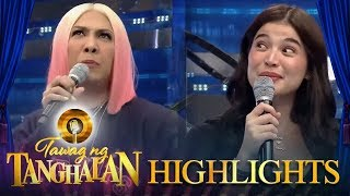 """Tawag ng Tanghalan: Vice gets pissed by Anne's version of """"Perfect"""""""