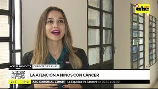 La atención a niños con cáncer