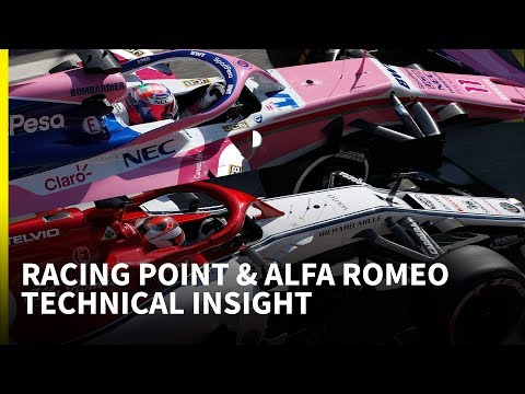 New Racing Point and the full Alfa Romeo package: F1 testing technical insight