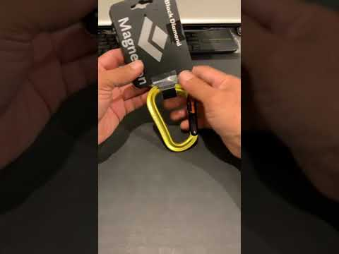 Black Diamond Magnetron Vaporlock Carabiner review