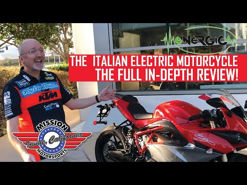 The FULL Review of the Energica Electric Motorcycle
