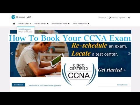 How To Book Your CCNA Certification Exam - YouTube