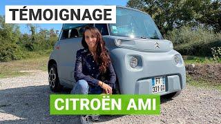 Une Citroën AMI au quotidien, ça donne quoi ?