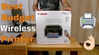 Canon PIXMA TS705 Wireless Inkjet Printer | Unboxing | Wireless SetUp