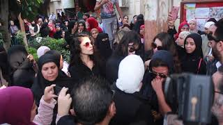 انهيار الفنانين بجنازة الفنان هيثم أحمد زكي