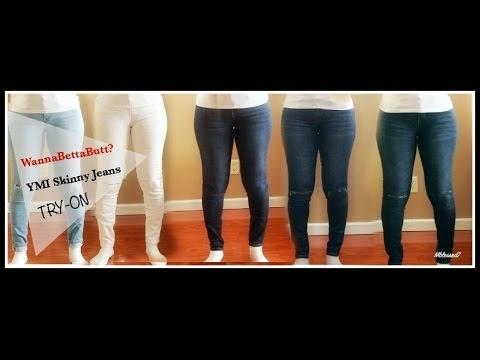 YMI WannaBettaButt? Try-On | YMI Skinny Jeans