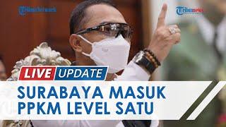 Meski Surabaya Masuk PPKM Level 1, Pemkot Masih Terapkan Aturan Level 3 dan Buka Sejumlah Bioskop