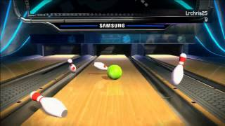 Kinect Sports - Bowling - One Bowl Roll (1/23/14)