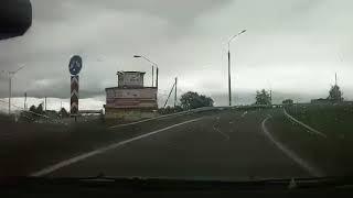 Неожиданно! Машина по встречке (лучшие приколы на дороге, видео авто, ДТП, авария)
