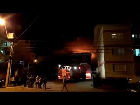 Incêndio destrói casa no bairro Aparecida
