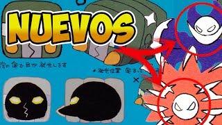 Cosmoem  - (Pokémon) - NUEVOS ARTWORKS de POKÉMON - FORMA SOLAR y LUNAR de COSMOEM