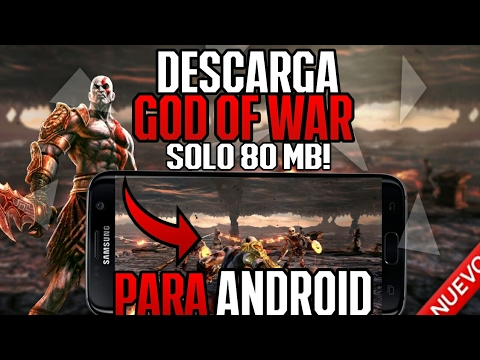 como descargar god of war chains of olympus para android