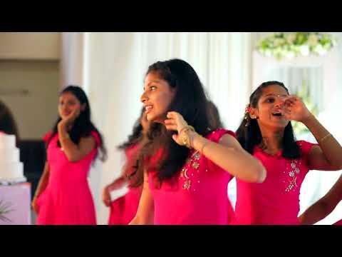 Cousins Dance for Kerala Christian Betrothal