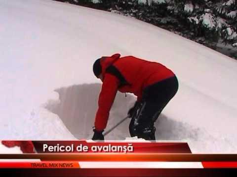 Pericol de avalanșă