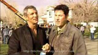 Interview with Eric Roberts - Heroes (VO)