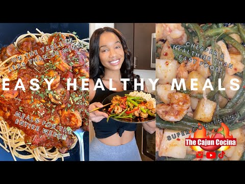 AFFORDABLE HEALTHY Meals to SAVE TIME MONEY & LOSE WEIGHT|QUICK & EASY