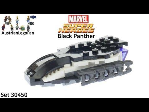 Vidéo LEGO Marvel Super Heroes 30450 : L'Avion Chasseur Royal (Polybag)