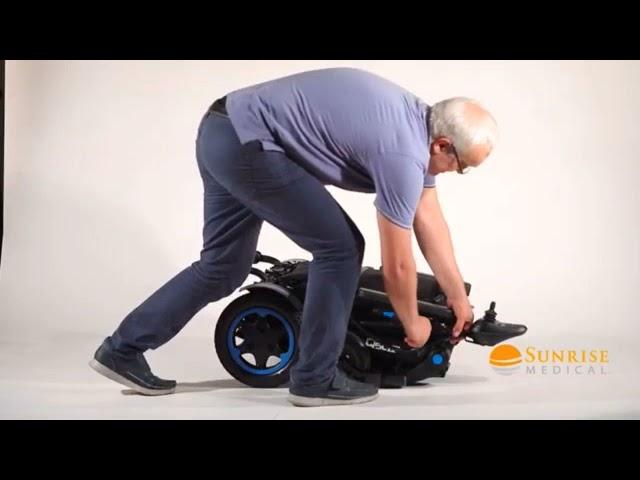 Quickie Q50 R Electric Wheelchair Video
