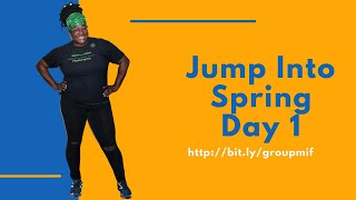 Jump Into Spring Jump Rope Challenge Day 1