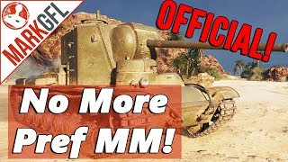 Official! Premium Tanks Preferential MM Removed! - World of Tanks