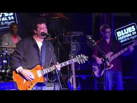 """Dave Herrero Trio performing """"Trouble"""" Live in Eskisehir, Turkey, November 2013."""