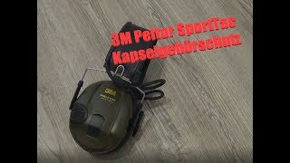 3M Peltor SportTac Gehörschutz // Review
