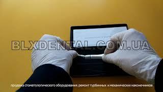 Угловой наконечник BLX dental, фиксация бора тип защёлка от компании BLX dental - видео