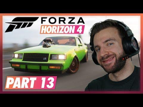 MUSCLE ZÁVODY! | Forza Horizon 4 #13