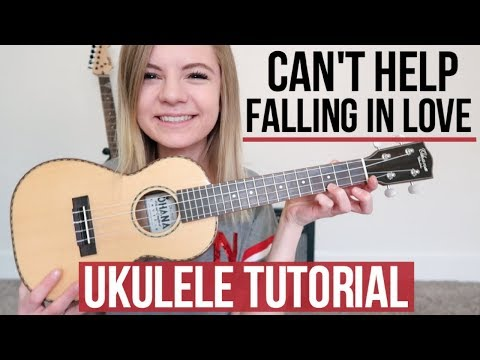 Can't Help Falling In Love - Elvis Presley/twenty one pilots | UKULELE TUTORIAL (видео)