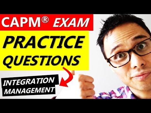 CAPM EXAM PRACTICE QUESTIONS: INTEGRATION ... - YouTube