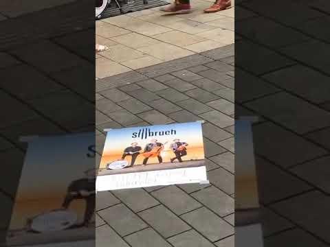 Stilbruch #live vor Galeria Karstadt Kaufhof in Leipzig - Part One