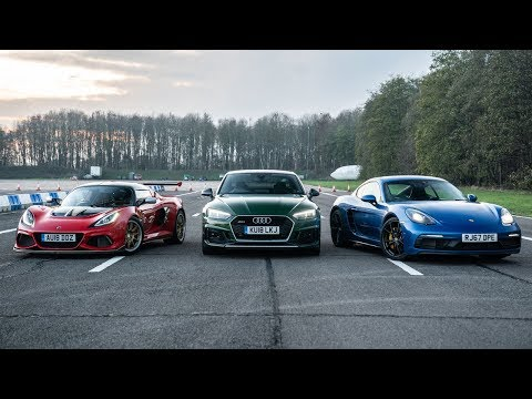Lotus vs Audi vs Porsche | Drag Races | Top Gear