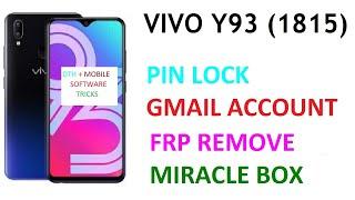 Vivo 1803 Pattern Unlock Miracle