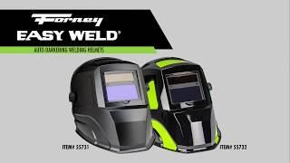 Forney Easy Weld® Auto-Darkeing Welding Helmets