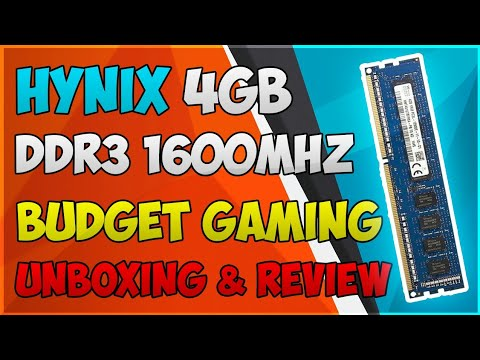 Hynix 4GB DDR3 1600mhz ram | Unboxing and Review |