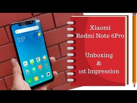 Xiaomi Redmi Note 6 Pro: Unboxing &1st Impression