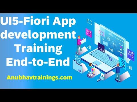 SAP UI5 and Fiori Training on WebIDE   UI5 Training on WebIDE ...