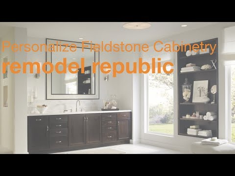 Personalize Fieldstone Cabinetry for your home