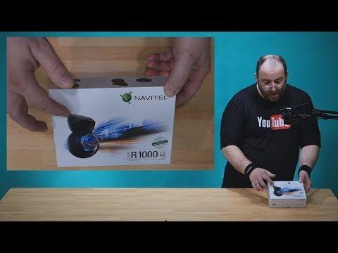 Navitel DVR R1000 ~  Rozbalení a recenze kamery do auta ~ Česky ᴴᴰ