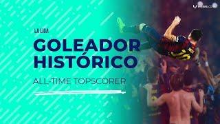 El día que Messi se transformó en el máximo goleador histórico de La Liga