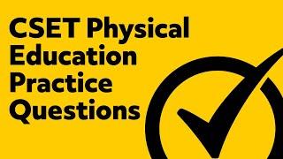 cset multiple subject subtest 3 physical education - Thủ