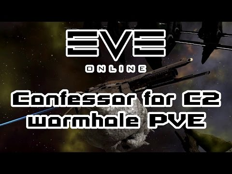 Eve Online - C2 Wormhole PVE for beginners