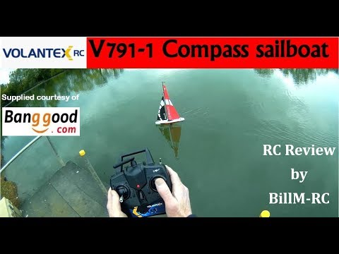 Volantex-RC V791-1 Compass RC Sailboat yacht review
