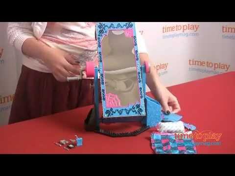 Monster High Frankie Stein Mirror Bed from Mattel