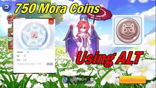Maxed 4th Advance Enchant with  750 Mora coins from my Alt Character Ragnarok Mobile Eternal love.