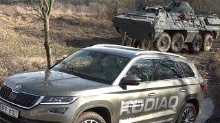 Škoda Kodiaq 4x4 Vs. Obrněný Transportér 8x8