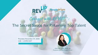 Connect with REVUP™: The Secret Sauce to Retaining Top Talent Webinar Recording